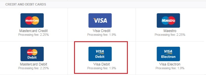 Chon phuong thuc nap tien vao tai khoan Neteller - Hướng dẫn nạp tiền vào Neteller bằng thẻ Visa/Master Card