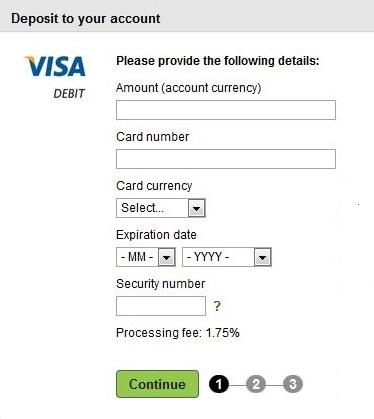 Dien thong tin nap tien Neteller - Hướng dẫn nạp tiền vào Neteller bằng thẻ Visa/Master Card