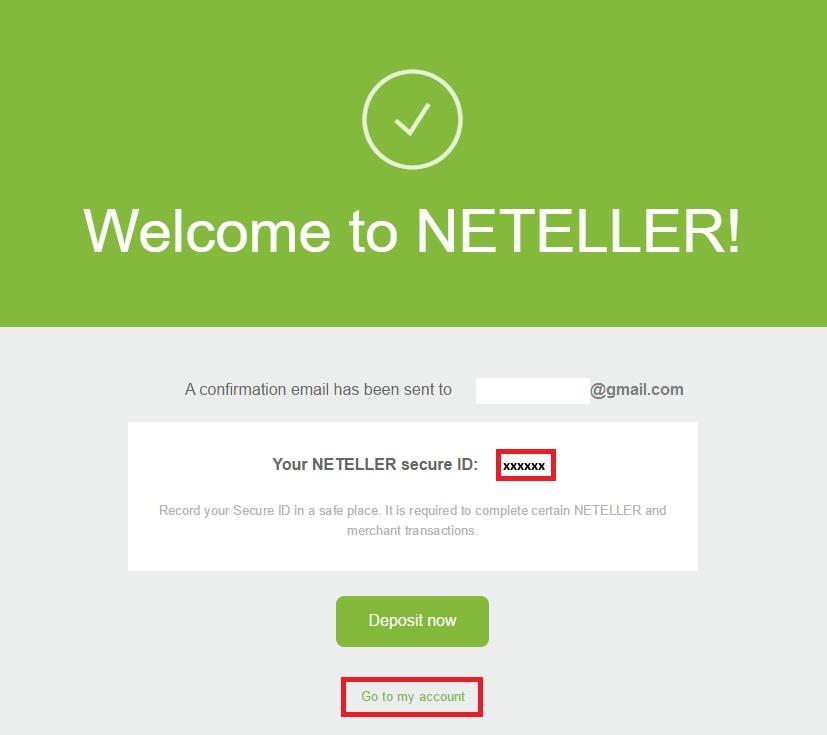 Ma ID Secure tai khoan Neteller - Hướng dẫn đăng ký tài khoản Neteller cập nhật mới nhất 2018