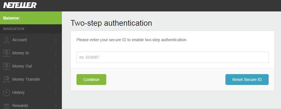 bao mat 2 lop neteller 2 - Hướng dẫn kích hoạt bảo mật 2 lớp cho tài khoản Neteller