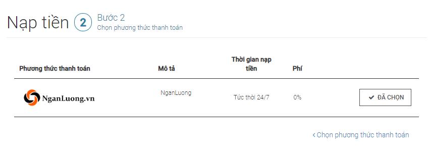 Nap tien Tickmill Chon phuong thuc thanh toan - Hướng dẫn nạp rút tiền trên tài khoản Tickmill
