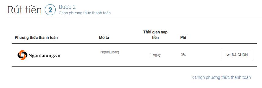 Rut tien Tickmill Chon phuong thuc thanh toan - Hướng dẫn nạp rút tiền trên tài khoản Tickmill