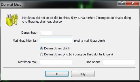 Doi mat khau tai khoan MT4 02 - Hướng dẫn cài đặt và sử dụng phần mềm giao dịch MetaTrader từ A đến Z