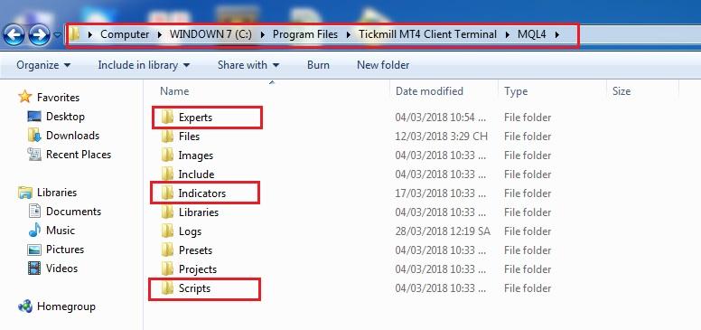 Them indicator vao MT4 - Hướng dẫn cài đặt và sử dụng phần mềm giao dịch MetaTrader từ A đến Z