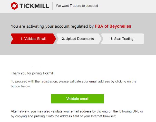 mo tai khoan tickmill 03 - Hướng dẫn mở tài khoản giao dịch forex trên sàn Tickmill